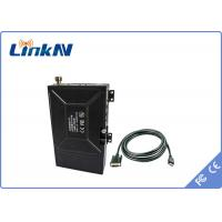 Wholesale Long range Video Audio Omnidirectional COFDM Transmitter with External Battery from china suppliers