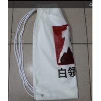 Wholesale Very easy to go out, travel, riding, playing, swimming double plastic drawstring backpack from china suppliers