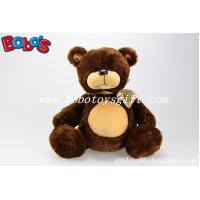 Wholesale Brown Big Belly Stuffed Bears with Ribbon from china suppliers
