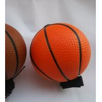 Wholesale Blue Color Safety OEM PU Stress Balls Foam Basketball Shining from china suppliers