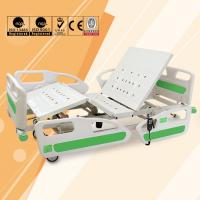 Wholesale ICU ABS Headboard Electric Hospital Bed Adjustable Multi Functions from china suppliers