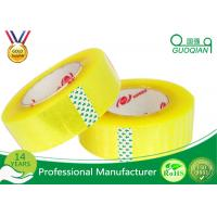 Wholesale Flexibility BOPP Packing Tape Strong Grip For Snap Curve Shape / Bundling from china suppliers