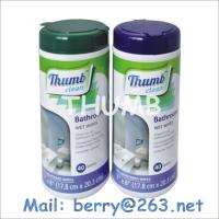Wholesale 40pcs Bathroom wet wipes from china suppliers