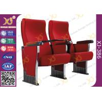 Metal Structure Slow Returning Auditorium Chairs For Conference Hall Room Fire Proof