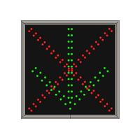 Wholesale Custom Full Color Led Traffic Control Signs For One Lane Road Sign 700*600mm from china suppliers