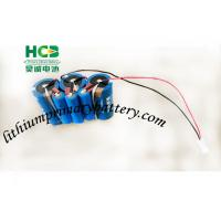 Wholesale Blue color 10.8V a supercapacitor battery pack for Smart meters , 3ER34615 + UPC1550 from china suppliers