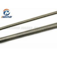 Wholesale M10 DIN 975 DIN976 Stainless Steel Full Threaded Rod 1000mm Length from china suppliers