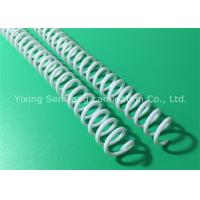 Wholesale Proposals 7.9MM White Spiral Binding Coils Standard Pitch With Plastic Material from china suppliers