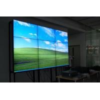 Wholesale Wall-mount LCD video wall SECAM Systems 60000hours Life span from china suppliers