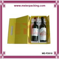 Wholesale Paper display box, double bottle wine glasses paper box, magnetic paper box ME-FD010 from china suppliers