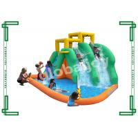 Wholesale Durable Outdoor Inflatable Backyard Water Slides With Basketball Hoop from china suppliers