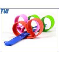 Wholesale Bulk Cheap Silicon Clap Wristband 4GB USB Memory Stick Thumbdrive from china suppliers