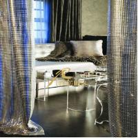 Wholesale Decorative Living room curtain,Metal sequin cloth from china suppliers