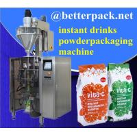 Wholesale Big plastic pouch drinks powder forming filling sealing packaging machine from china suppliers