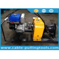 Wholesale 8T Petrol Powered Winch For Cable Pulling Project Overhead Line Transmission from china suppliers