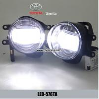 Wholesale TOYOTA Sienta High Power LED DRL Bumper Bar Driving Fog Lights Foglight from china suppliers