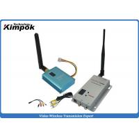 Wholesale 800m CCTV Wireless Video Transmitter 2.4Ghz FPV Sender With 12 Channels from china suppliers