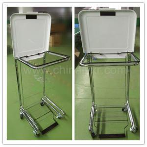 Wholesale medical hamper stand/LY-FS/Higt Quality Tilt-Lid Hospital Hamper from china suppliers