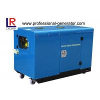 Wholesale 12.5kw Power Silent Type Diesel Generator 220V / 380V , with electric star Twin-cylinder Engine from china suppliers
