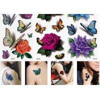 Wholesale Women's Flower Temporary Fashion Tattoos Sticker Long Lasting Tattoo Sticker from china suppliers