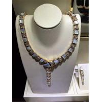 Buy cheap Luxury jewelry Bvlgari Serpenti series  necklace 18k gold white gold yellow gold rose gold  diamond  necklace from wholesalers
