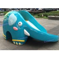 Wholesale Elephant Fiber Glass Playground Slide Children and Kids Play Equipment from china suppliers