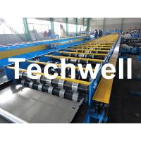 Wholesale Galvanized Steel Floor Deck Roll Forming Machine For Floor Decking Sheets from china suppliers