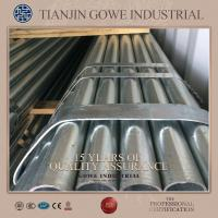 Wholesale ERW Hot Dipped Galvanized Pipe Q235 48.3mm Diameter plastic packing from china suppliers