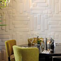 Wholesale Hotel Interior 3D Decorative Wall Panels from china suppliers