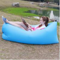 Quality 2016 Trending Product Lazy Bag High Quality Air Sleeping Bed Custom Logo Inflatable Sleepi for sale