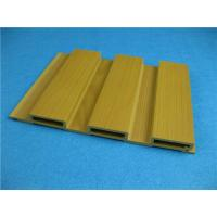 Wholesale Economic Sandalwood PVC Extrusion Profiles WPC Interior Decoration from china suppliers