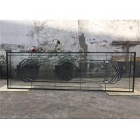 Wholesale Tempered Sliding Glass DoorPowder Coated Smooth Surface 25.4 Mm Thickness from china suppliers