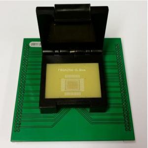 Buy cheap 0.8mm FBGA256 programming socket UP818 UP828 FBGA256 adapter from wholesalers