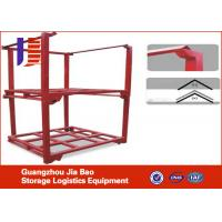 Wholesale Durable Garment Modular Small Stacking Shelf With 4 Wheels , Capacity 1800kg from china suppliers
