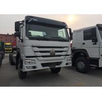 Quality SINOTRUK HOWO Dropside Cargo Commercial Vehicles Truck Chassis LHD 6X4 371HP for sale