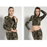 Fashionable Womens Military Dress Threaded Cuffs And Hem With Non - Detachable for sale