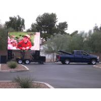 Wholesale P6 RGB Truck Mounted LED Screen , Super Brightness Sports Rental Billboard from china suppliers