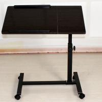 Wholesale Small Rolling Adjustable Laptop Table Tiltable Tabletop Desk TV Stand DX-BJ17 from china suppliers