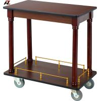 Wholesale Walnut Kitchen Trolley-Hotel Service Trolleys from china suppliers