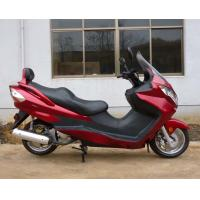 Quality Electric Starting system Gas Powered Scooters , Adult Gas Scooter 1600MM Wheelbase for sale