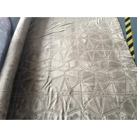 Wholesale 3D Burnout Home Decor Brushed Flannel For Bedding / Mat Single Colour Dyed from china suppliers