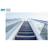 Wholesale Glass / Stainless Steel Balustrade Outdoor Escalator With Comb Plate Safety Devices from china suppliers