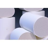 Wholesale Cordierite Ceramic Diesel Catalytic Converter Substrate  / Alumina Ceramic Substrate from china suppliers