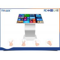 Wholesale 1080P multi touch surface Free Standing Digital Signage , interactive touch kiosk from china suppliers
