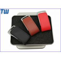 Wholesale Little Gardgets 2GB USB Stick Fine Leather Cover Memory Drive from china suppliers