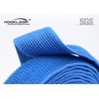 Quality Sticky Back Elastic Hook And Loop Tape Colored  By The Yard for sale