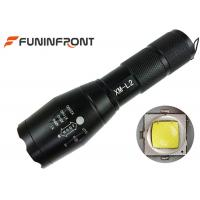 Wholesale 10W Cree XM-L T6 or L2 Handheld Zoom LED Flashlight Portable with 5 Light Modes from china suppliers