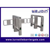 Wholesale Portable Single Bridge type Swing Barrier Gate for Pedestrian , Supermarket Swing Gate from china suppliers