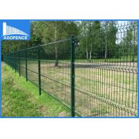 Wholesale Heavy Duty Farm 3D Fence Panel , Triangulate Stainless Steel Mesh Panels from china suppliers
