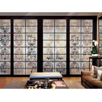 Wholesale Safety Decorative Frosted Interior Glass Doors / Deep Carved Glass For Residential from china suppliers